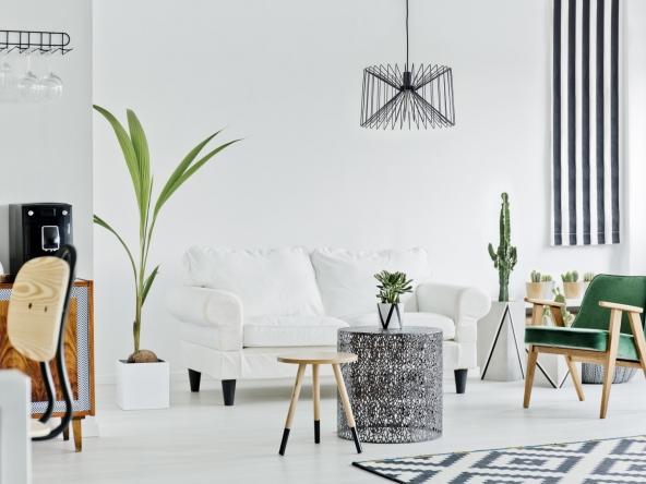 Open space of loft